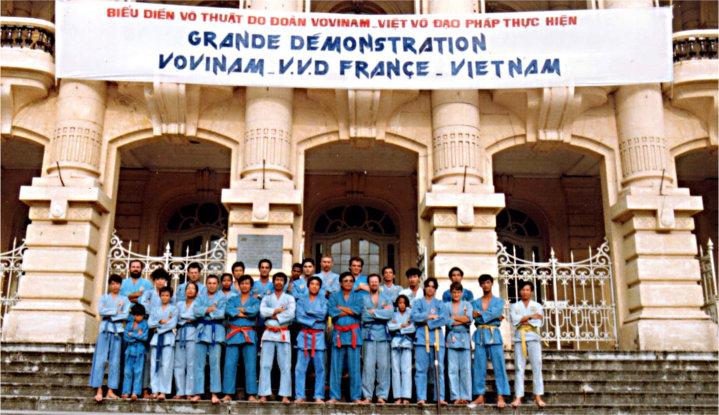 vovinam phaidoanphap bieudien operahanoi 1993